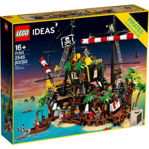 Brinquedo Lego Ideas: Os Piratas da Baía da Barracuda -
