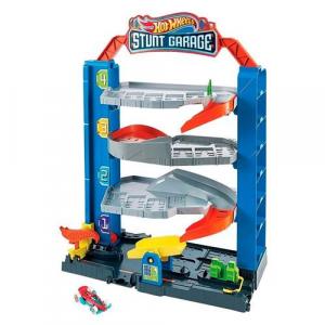 Brinquedo Hot Wheels City Pista Stunt Garagem - Mattel