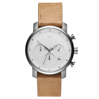 Relógio MVMT Masculino Couro Marrom - D-MC02-WT