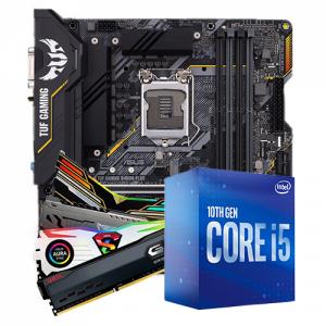 Kit Upgrade, Intel i5 10400F, ASUS TUF Gaming B460M-Plus
