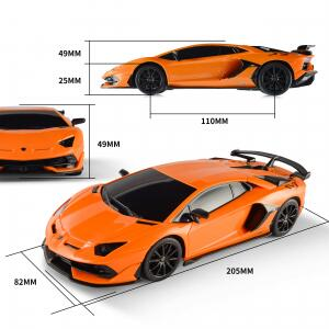 Carrinho Controle Remoto Bezgar Lamborghini Aventador S