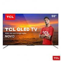"Smart TV QLED 55"" 4K TCL QL55C715 Android TV Wi-Fi Bluet"