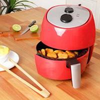 Fritadeira sem Óleo 3L Vermelha - Fun Kitchen 127V