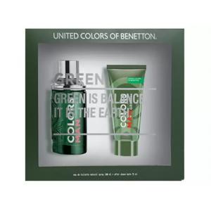 Kit Perfume Benetton Colors Man Green Masculino - Eau de