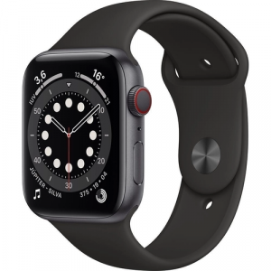 Apple Watch Series 6 44mm Caixa Cinza -Espacial e Pulsei