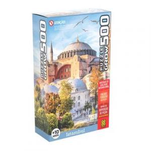 Quebra-Cabeça Istambul Grow  500 Peças PBKIDS