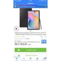 Tablet Samsung Galaxy Tab S6 Lite 10,4? 4G Wi-Fi - 64GB