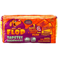 3 Pacotes de Tapete Higiênico Flip Flop 30 Unidades cad