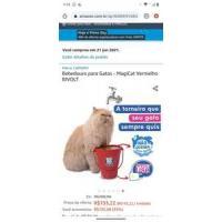 [PRIME DAY] Bebedouro para gatos MagiCat BIVOLT