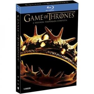 Box Blu Ray Game Of Thrones 2 Temporada 5 Discos