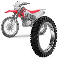 Pneu Moto Crf 230F Rinaldi Aro 18 110/100-18 64m Traseir