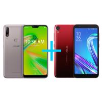 Smartphone Zenfone Max Shot 3GB/64GBPrata + Smartphone Z
