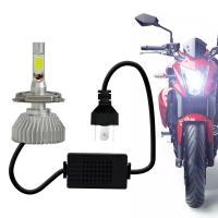 Lâmpada Super LED 2D Moto H4 6000K Headlight