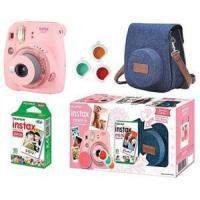 Câmera Instantânea Fujifilm Instax Mini 9 Com 3 Filtros