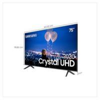 "Samsung Smart TV 75"" Crystal UHD TU8000 4K, Bor"