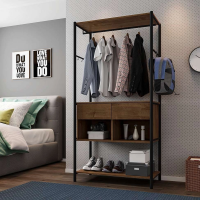 Guarda Roupa Closet Modulado Paris