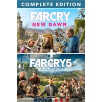Conjunto Far Cry 5 + Far Cry New Dawn Deluxe Edition - X
