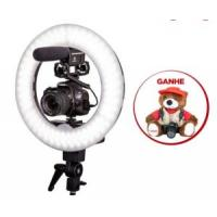 Combo Câmera SL2 Youtuber com Microfone e Ring Light - R