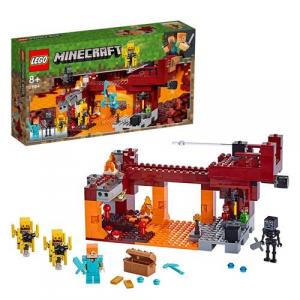 Brinquedo Minecraft: A Ponte Flamejante 372 Peças 21154