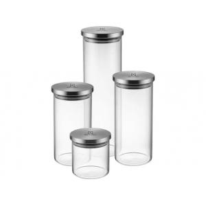 Jogo de Potes de Vidro Hermético Electrolux - com Tampa