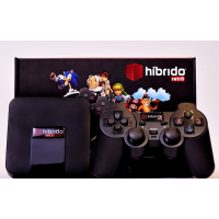 Videogame Multiplataforma V2 TX Black - Hibrído Retrô
