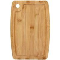 Table Tábua P/Servir 30 * 20cm Bambu Natural Sr Retang G