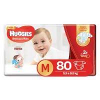 Fralda HUGGIES Supreme Care M - 80 Fraldas R$38