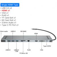 Hub Baseus USB-C - 10 Portas