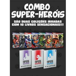 Combo de Livros Super Heróis - Editora Europa