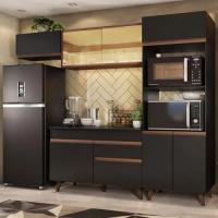 Cozinha Completa Madesa Reims 260001 Com Armário e Balc